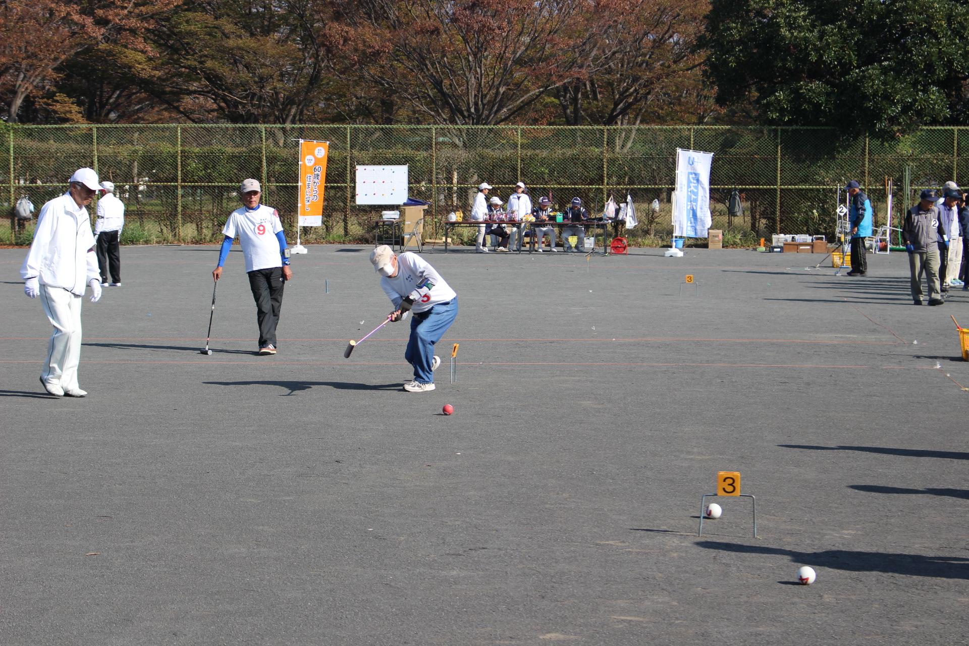 20191101_第4回 ウスイホーム杯 ゲートボール大会 (79)